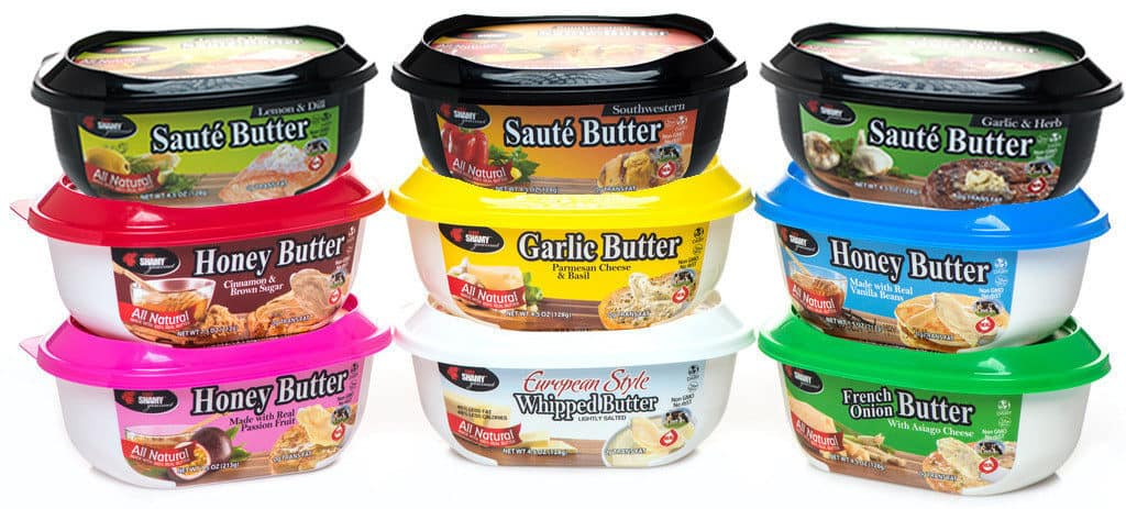 Chef shamy small gourmet butter collection