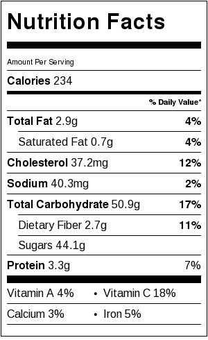 Nutrition-label-for-simple-mini-peach-galettes