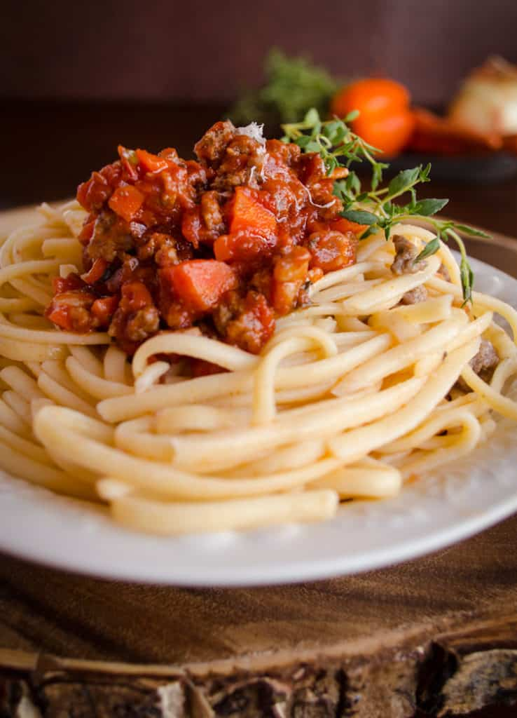 Five-Minute Spaghetti Bolognese Recipe — Dishmaps