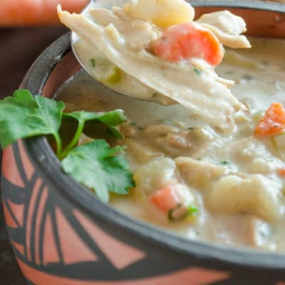 The most delicious Leftover Turkey Stew. Ever. (Seriously.)