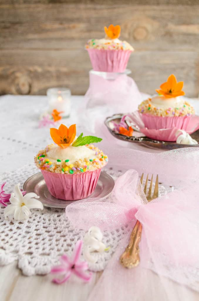 Chai Carrot Cupcakes with Mascarpone Cream Cheese Frosting - The Goldilocks Kitchen