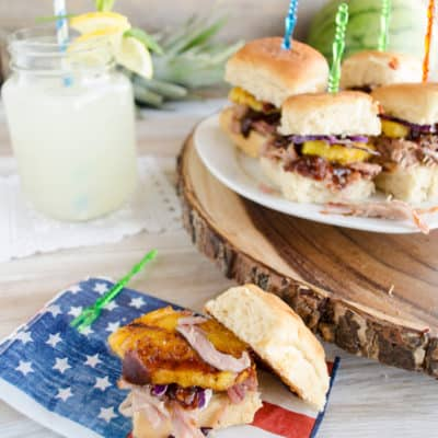 Easy 30 Minute Pulled Pork Sliders with Homemade Barbecue Sauce