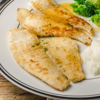 Fast Fish Dinner with Herbed Browned Butter
