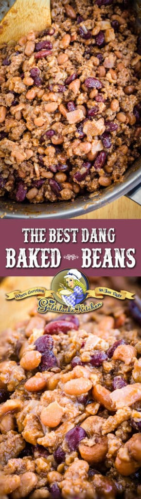 """One taste and you'll be saying, """"These are the best dang baked beans ever!"""" The tangy, hearty and sweet flavor of these beans just can't be beat."""