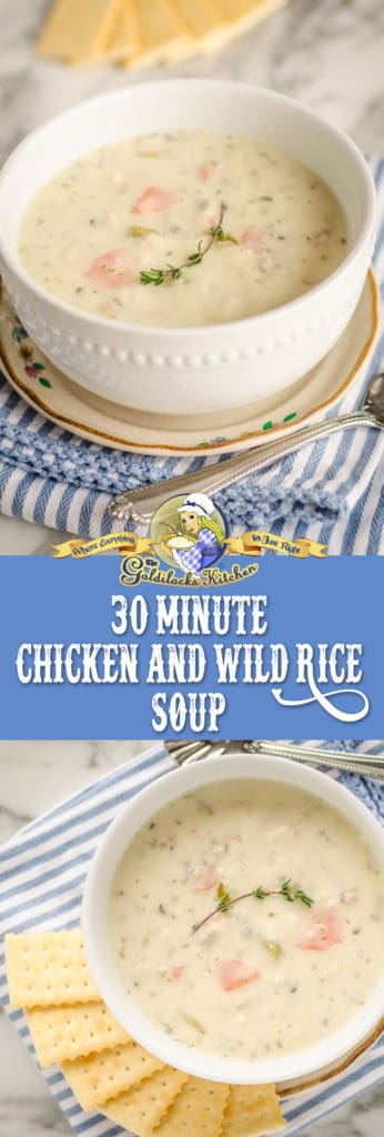 This 30 minute, one pot chicken and rice soup is an outstanding recipe for a quick weeknight comfort food meal.