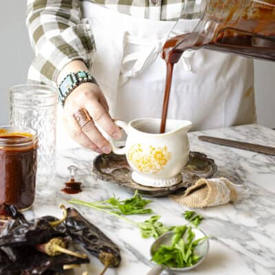 How to Make Authentic Red Chile Sauce from Dried Chili Pods